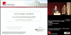 """Miniaturansicht - Vom heutigen """"Bergfest"""" zum Universitätskolleg 2020+"""
