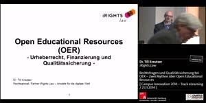 Miniaturansicht - Rechtsfragen und Qualitätssicherung bei OER – Zwei Mythen über Open Educational Resources