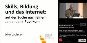 Miniaturansicht - Skills, Bildung und das Internet: auf der Suche nach einem (zahlenden?) Publikum