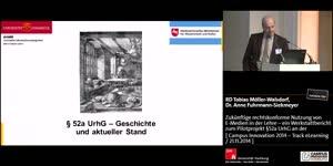 Thumbnail - Zukünftige rechtskonforme Nutzung von E-Medien in der Lehre – ein Werkstattbericht zum Pilotprojekt §52a UrhG an der Universität Osnabrück