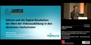Miniaturansicht - Kaltura und die Digital Revolution: der Wert der Videoausbildung in den deutschen Hochschulen