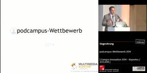 Miniaturansicht - podcampus-Wettbewerb 2014