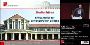Miniaturansicht - Studienbüros – Erfolgsmodell zur Bewältigung von Bologna!