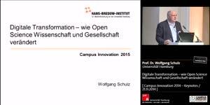 Miniaturansicht - Digitale Transformation – wie Open Science Wissenschaft und Gesellschaft verändert