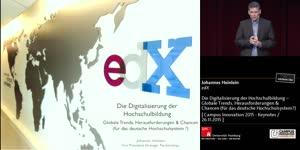 Miniaturansicht - Die Digitalisierung der Hochschulbildung – Globale Trends, Herausforderungen & Chancen (für das deutsche Hochschulsystem?)