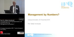 Miniaturansicht - Management by Numbers?