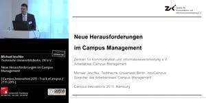 Miniaturansicht - Neue Herausforderungen im Campus Management