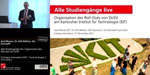 Miniaturansicht - Alle Studiengänge live: Organisation des Roll-outs für DoSV