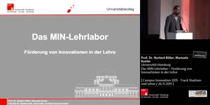 Miniaturansicht - Das MIN-Lehrlabor – Förderung von Innovationen in der Lehre