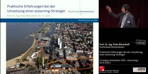 Miniaturansicht - Praktische Erfahrungen bei der Umsetzung einer eLearning-Strategie