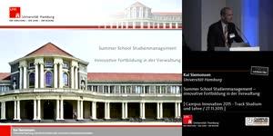 Miniaturansicht - Summer School Studienmanagement – innovative Fortbildung in der Verwaltung