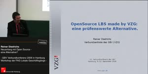 Thumbnail - Reiner Diedrichs: Neuanfang mit OpenSource - eine Alternative?