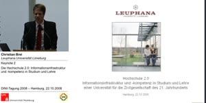 Thumbnail - Die Hochschule 2.0: Informationsinfrastruktur und -kompetenz in Studium und Lehre