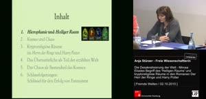 """Miniaturansicht - Die Desakralisierung der Welt - Mircea Eliades Begriff des """"Heiligen Raums"""" und kryptoreligiöse Räume in den Romanen Der Herr der Ringe und Harry Potter"""