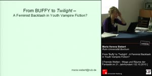 Miniaturansicht - From Buffy to Twilight - A Feminist Backlash in Youth Vampire Fiction?
