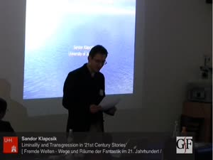 Miniaturansicht - Liminality and Transgression in '21st Century Stories'