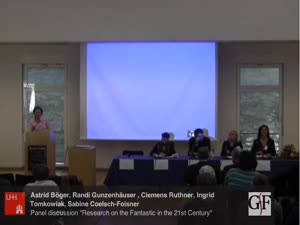 """Miniaturansicht - Panel Discussion """"Research on the Fantastic in the 21st Century"""""""