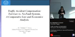 Miniaturansicht - Traffic Accident Compensation: Tort Law vs. No-Fault Systems. A Comparative Law and Economics Analysis