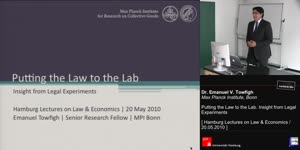Miniaturansicht - Putting the Law to the Lab. Insight from Legal Experiments