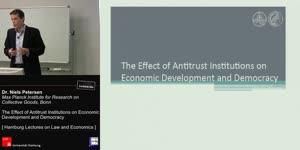 Miniaturansicht - The Effect of Antitrust Institutions on Economic Development and Democracy