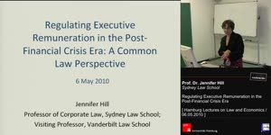 Miniaturansicht - Regulating Executive Remuneration in the Post-Financial Crisis Era: A Common Law Perspective