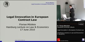 Miniaturansicht - Legal Innovation in (European) Contract Law