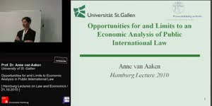 Miniaturansicht - Opportunities for and Limits to Economic Analysis in Public International Law