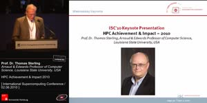 Miniaturansicht - Past Year in PerspectiveWednesday Keynote: HPC Achievement & Impact – 2010