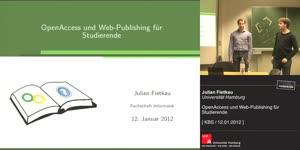 Miniaturansicht - [KBS] OpenAccess und Web-Publishing für Studierende
