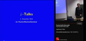 Miniaturansicht - [KBS] Lightning Talks 2010