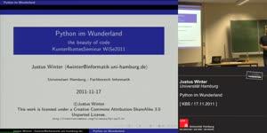 Miniaturansicht - [KBS] Python im Wunderland - the beauty of code