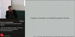 Thumbnail - Prof. Dr. Torsten Meyer: Digitale Universität und medienkultureller Wandel