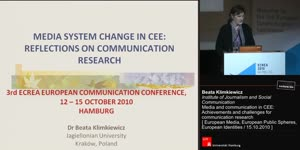 Miniaturansicht - Media and communication in CEE: Achievements and challenges for communication research