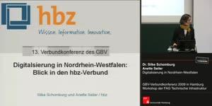 Thumbnail - Dr. Silke Schomburg u. Anette Seiler: Digitalisierung in Nordrhein-Westfalen