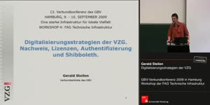 Thumbnail - Gerald Steilen: Digitalisierungsstrategien der VZG