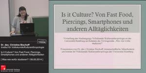Miniaturansicht - Is it Culture? Von Fast Food, Piercings, Smartphones und anderen Alltäglichkeiten
