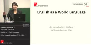 Miniaturansicht - English as a World Language
