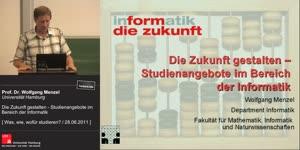 Miniaturansicht - Die Zukunft gestalten - Studienangebote im Bereich der Informatik
