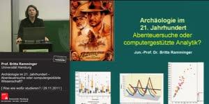 Miniaturansicht - Archäologie im 21. Jahrhundert – Abenteuersuche oder computergestützte Wissenschaft?