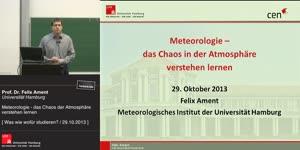Miniaturansicht - Meteorologie – das Chaos in der Atmosphäre verstehen lernen